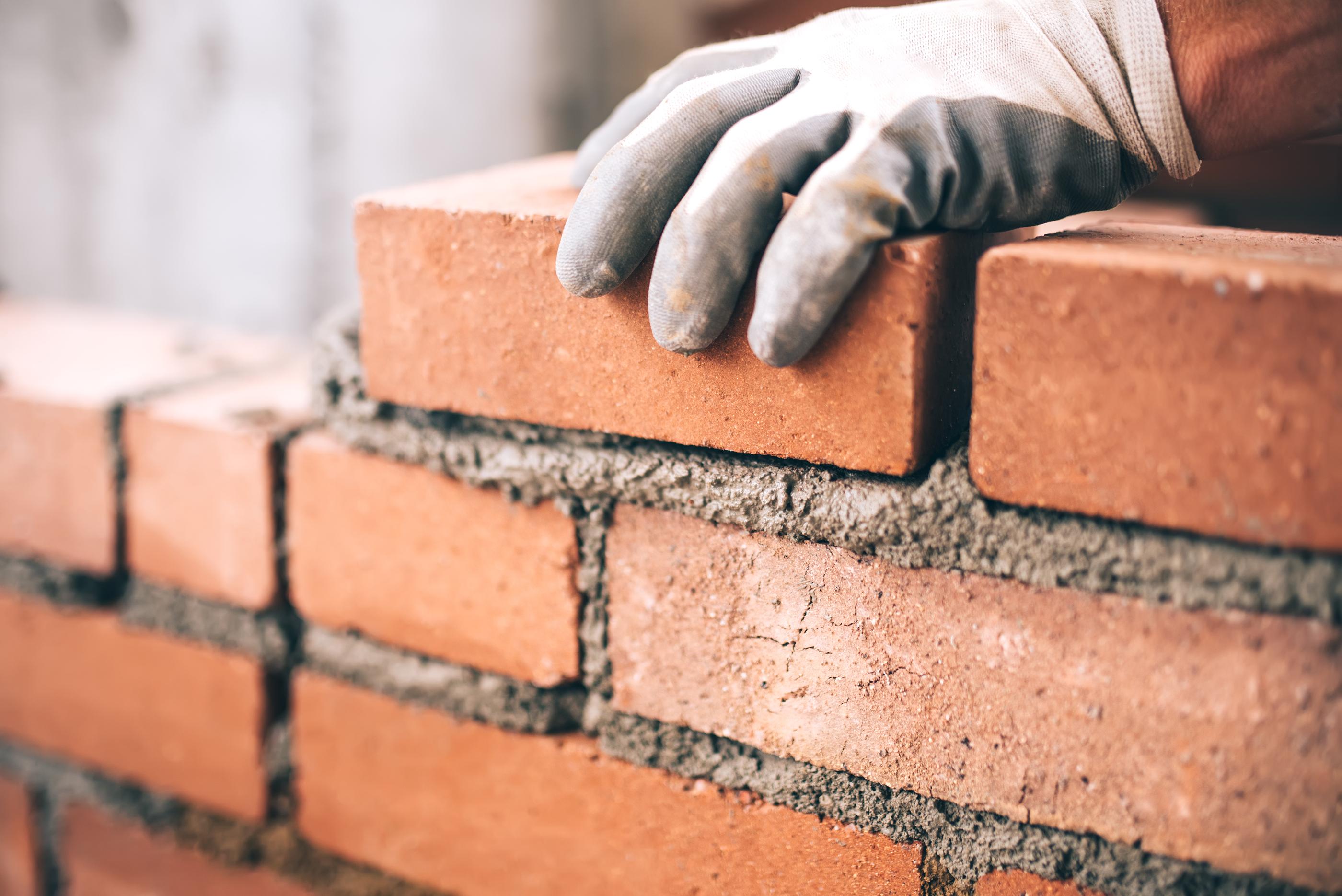 bigstock Close Up Of Industrial Brickla 141056747
