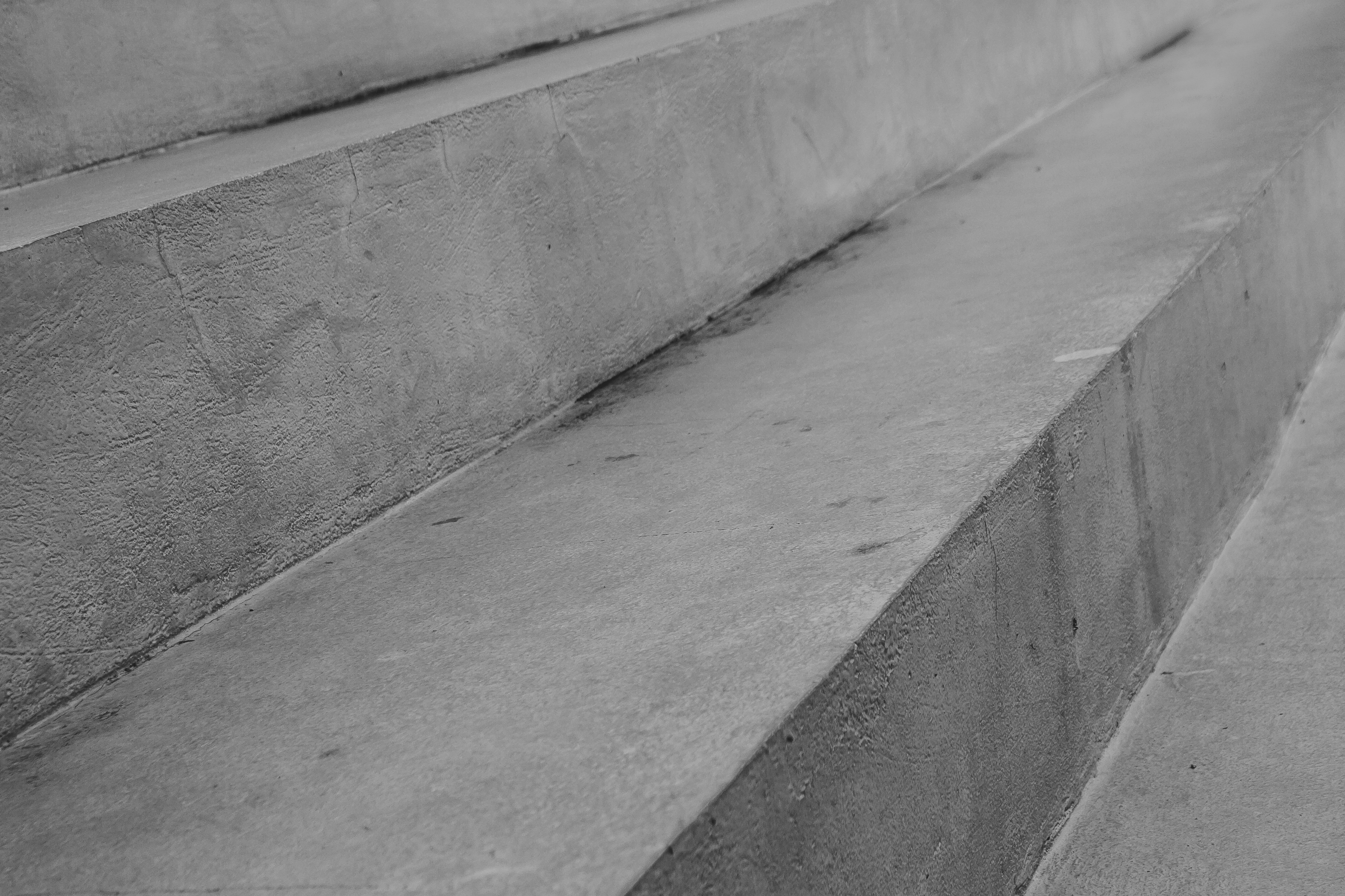Abstract Black And White Image Of Steps Of Stone Or Concrete Sta